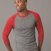 Dri-Power Active Triblend Baseball Raglan T-Shirt